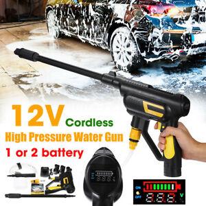 12V-1-4-034-Cordless-Pressure-Spray-Gun-Washer-Power-Cleaner-w-Li-ion-Battery-110V