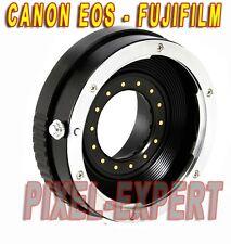 ANELLO ADATTATORE CANON EOS FUJIFILM FUJI FOTOCAMERA X-PRO1 X-E2 X-A1 X-M1 X-T1