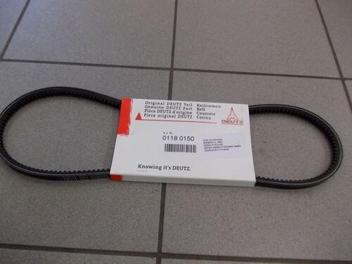Keilriemen AVX 13x1200 Deutz Wax 01180150 gezahnt Daimler Nr 0039977492