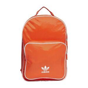 de primera categoría relé computadora  Backpack adidas Originals Classic DV0184 orange Rucksack Bag Mochila Zaino  | eBay