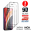 thumbnail 1 - For iPhone 11 12 Pro X XR XS Max 3Pcs Full Cover Tempered Glass Screen Protector