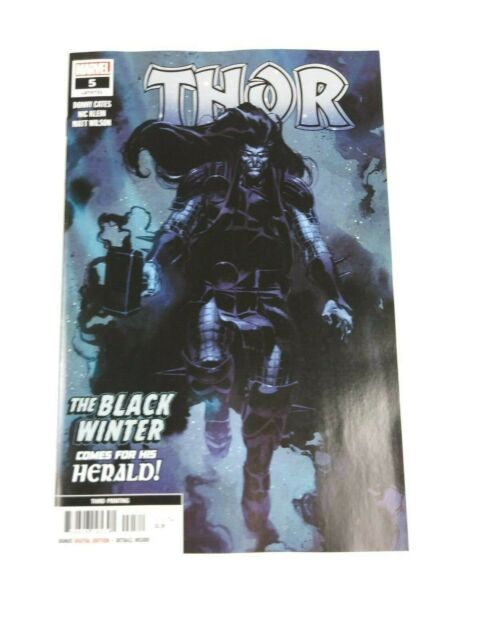 Thor #5 Marvel 2020 3rd Print 1st App Black Winter Donny Cates NM High Grade