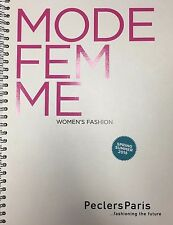 Peclers Paris, WOMEN'S FASHION TREND BOOK SPRING SUMMER 2015