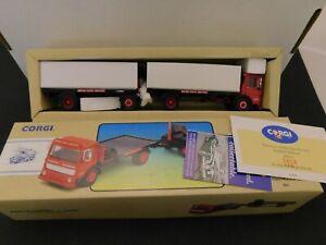 Corgi Classic 97895 Aec Flatbed Truck Trailer W Cargo Boxes New In Box Ebay