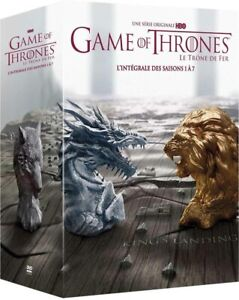 COFFRET NEUF DVD SERIE : GAME OF THRONES SAISONS 1 A 7 - L'INTEGRALE