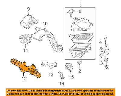 JAGUAR OEM 11-13 XJ 5.0L-V8 Air Cleaner Intake-Tube Duct Hose C2D2729