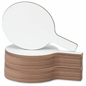 """Flipside Round 12"""" Dry Erase Answer Paddle - 7"""" [0.6 Ft] Width X 12"""" [1 Ft]"""