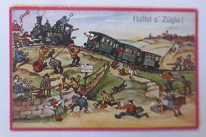 Lokomotive-Eisenbahn-Auf-de-Schwaebische-Eisebahne-1938-19146