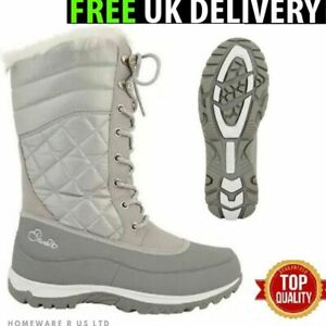 5570c0fa99467 LADIES DARE 2B MOUNTAIN SNOW HIKING GREAT OUTDOORS BOOTS GREY SILVER ...