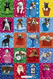 Keith-Kimberlin-Dog-Collage-Maxi-Poster-61cm-x-91-5cm-new-and-sealed