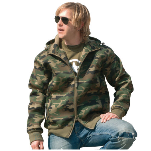 ons Woodland S capuchon Windproof met Fleece Army xxl Heren thermojack Neopreen Camo 04O7xATq