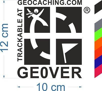 Gift Set Track bar T-Shirt Car Sticker Travelbug Geocaching Set