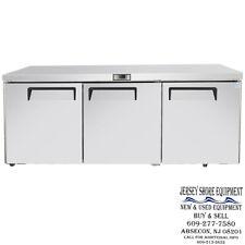 Atosa Mgf8404gr 72 Undercounter Ss Refrigerator Warranty 72 X 30 X 34