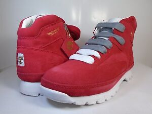 new style b28ee 56e3e Image is loading TIMBERLAND-MENS-EH-HEADSPIN-Red-White-50520-BOOTS