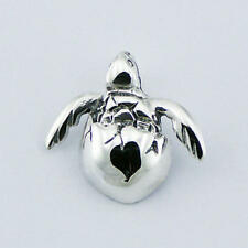 USA Seller Baby Turtle Pendant Sterling Silver 925 Best Deal Plain Jewelry Gift