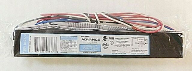 ICN-1P32-N ADVANCE Electronic Ballast,T8 Lamps,120//277V