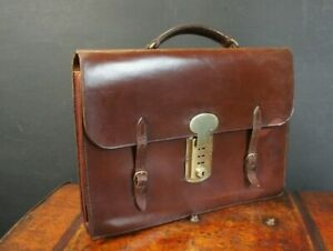 Chestnut-Brown-1920s-Leather-Executives-Bridle-Briefcase-Hand-Sewn-Sheffield