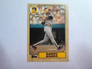 Details About Barry Bonds Rookie Card With Error