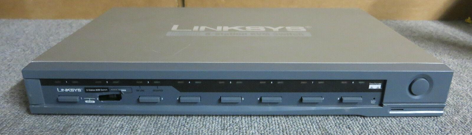 Linksys ProConnect 8-Station CPU KVM Switch SV1EW08, Networking Equipment