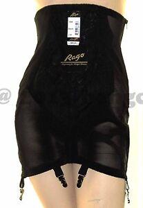 Rago-1294-High-Waist-Open-Bottom-Girdle-6-Metal-Garters-Side-Zipper-Firm-Control