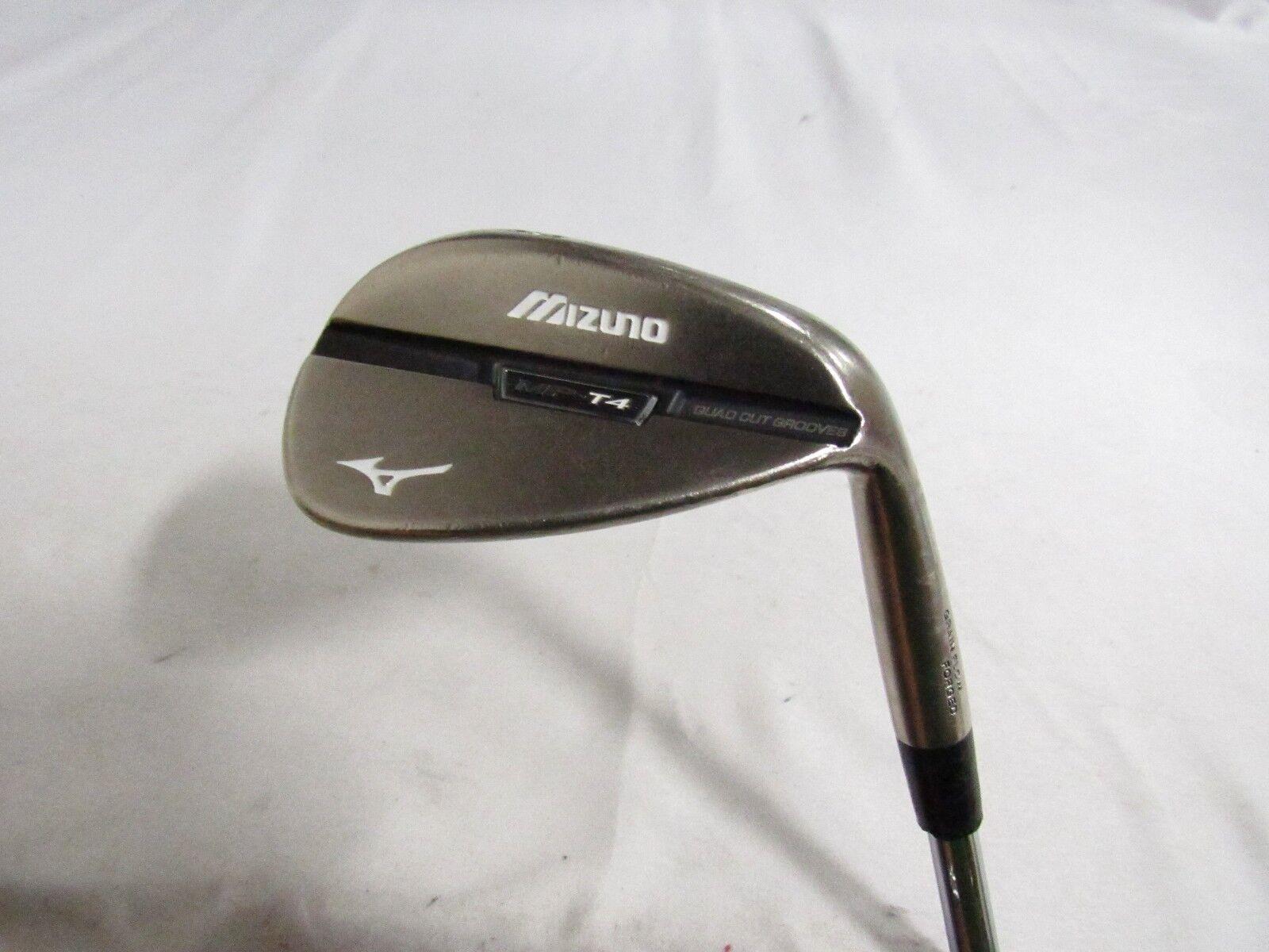 Usado RH Mizuno MP-T4 (Negro) Sand Wedge 56.10  Acero extra Stiff Flex Proj X X