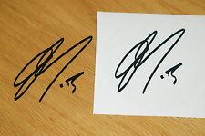 Wayne Gardner Signature Sticker - Black