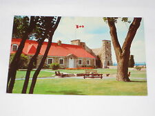 VINTAGE Fort Chambly National Historic Park Museum Postcard Chambly Quebec Front