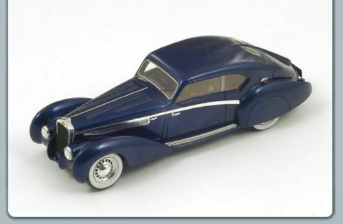 Delage D8 120 Letourneur 1938 Blue S2707 Spark 1:43 New in a box!