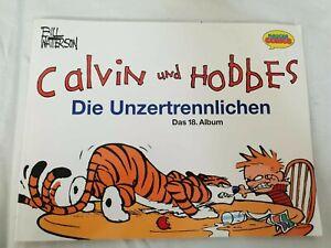Calvin-und-Hobbes-Paket-Sammlung-Comic-Hefte-Krueger-Bill-Watterson-8-Stueck