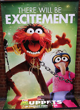 Cinema Banner: MUPPETS, THE 2012 (Animal & Gonzo) Amy Adams Jason Segel