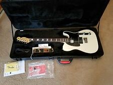 Fender Limited Edition American Standard Telecaster HH Olympic White-10 for '15