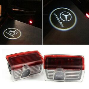 2xcar laser projector ghost shadow led door courtesy for Mercedes benz door lights