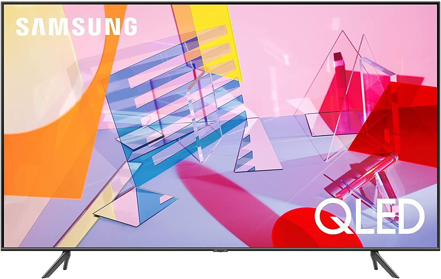 SAMSUNG 65-inch Class QLED Q60T Series - 4K UHD Dual LED Quantum HDR Smart TV . Available Now for 770.00