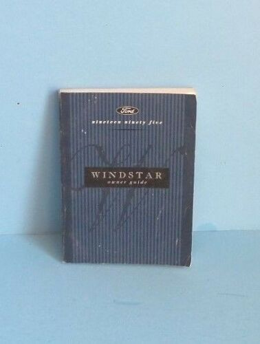 95 1995 Ford Windstar owners manual