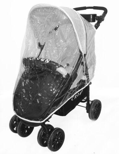 Regenverdeck Regenschutz Windschutz für CROWN ST712 Buggy Kinderbuggy UNIVERSELL