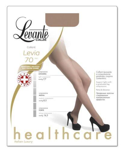 Levante Tights Woman Levia 70 den Pantyhose Anti-fatigue Compression decreasing