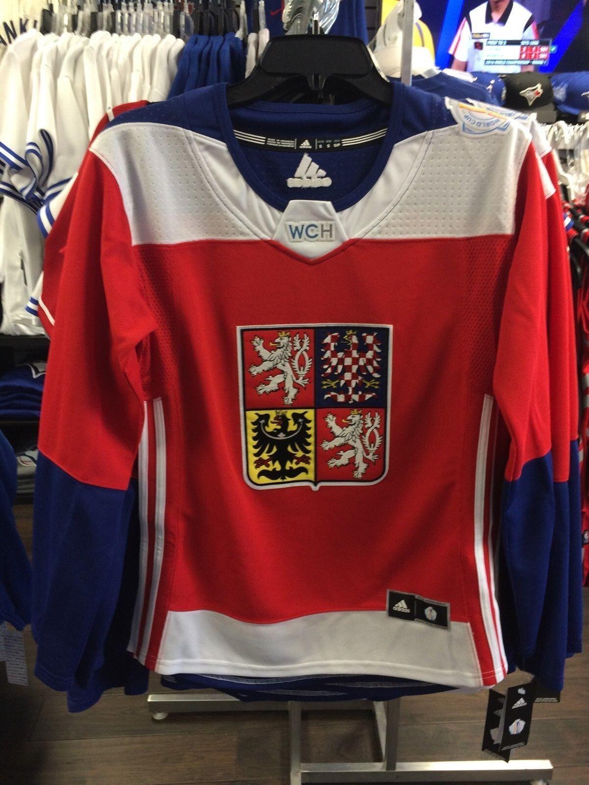Coupe du Monde de Hockey 2016 République Tchèque Réplique Adidas Jersey Replica M Femmes Dames