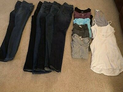 Tops Tanks Size Small/4long! Women's Casual Clothing Lot Of 16 Jeans