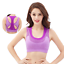 Women-Yoga-Fitness-Stretch-Workout-Tank-Top-Seamless-Racerback-Padded-Sports-Bra thumbnail 7