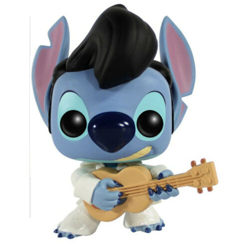 Neue Funko Pop Lilo /& Stich Stich Elvis Presley 127 # Vinyl Actionfigur IN Box