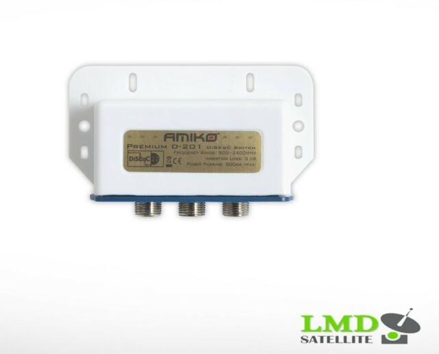 AMIKO 2 WAY DiseqC PREMIUM D-2/1 OUTDOOR Switch (2x1)