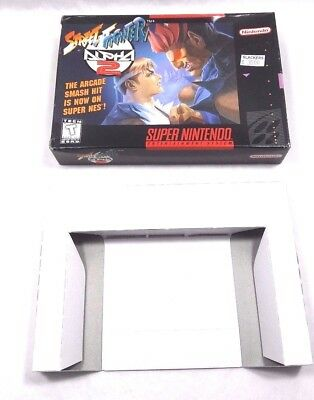 Street Fighter Alpha 2 Super Nintendo Snes Vintage Box