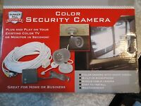 Security Camera Color With Night Vision