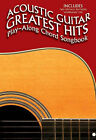 Acoustic Guitar Greatest Hits Playalong Chord Songbook by Music Sales Ltd (Paperback, 2004)