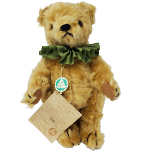 Hermann-Nicky-Yes-No-Mechanical-Mohair-Bear-11-inches