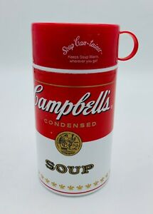 Vintage Campbell Soup Travel Mug Thermos