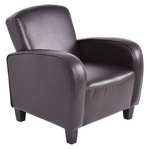 Modern Accent Arm Chair Single Sofa Seat Leisure Living Room Furniture Brown