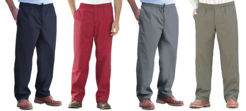 NEW Mens Trousers Thermal Lined Rugby Bottoms Elasticated Waist 2 Pockets Warm