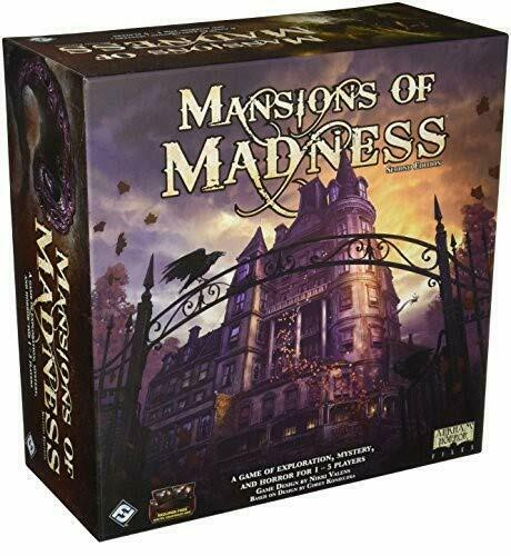 Mansion of Madness Board Game Second Edition Exploration Mystery Horror Set New