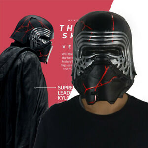 Kylo Ren Helmet Cosplay Mask Star Wars 9 The Rise Of Skywalker Latex Mask Props Ebay